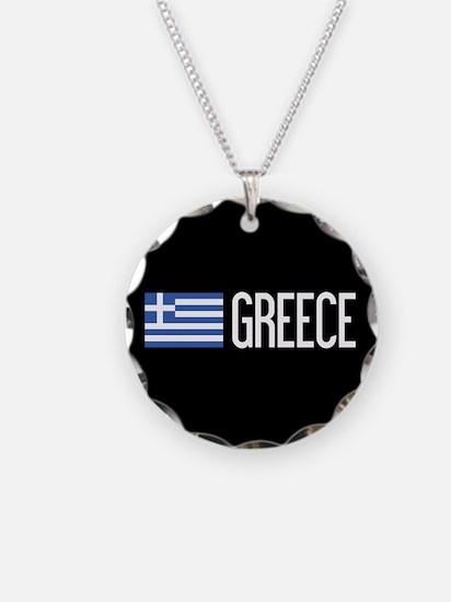 Greece: Greek Flag & Greece Necklace