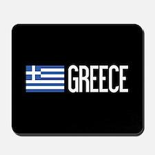 Greece: Greek Flag & Greece Mousepad