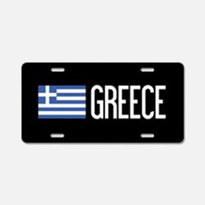 Greece: Greek Flag & Greece Aluminum License Plate