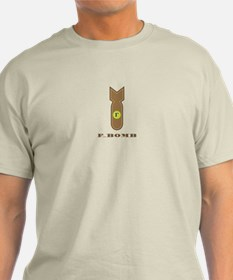 F-bombBrown T-Shirt
