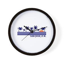San Jose, Costa Rica Wall Clock