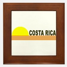 Costa Rica Framed Tile