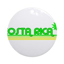 Costa Rica Ornament (Round)