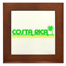 Costa Rica Framed Tile