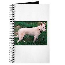 White German Shepherd Dog Journal