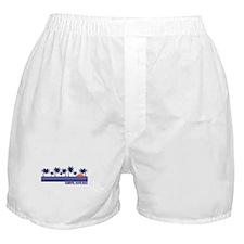 Cahuita, Costa Rica Boxer Shorts