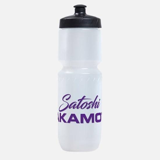 Satoshi NAKAMOTO Sports Bottle