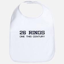 26 Rings. One This Century. Bib
