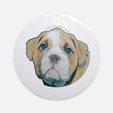 Bulldog Keepsake (Round)