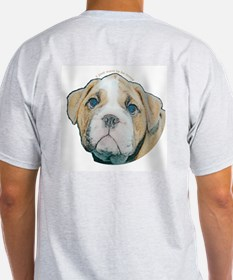 Bulldog Ash Grey T-Shirt