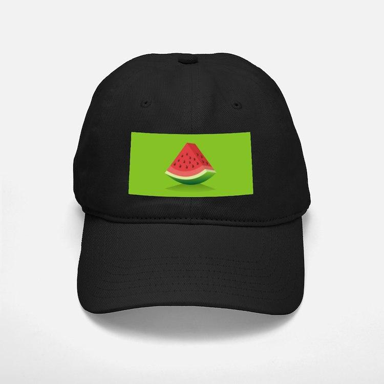 Watermelon Background Baseball Hat