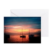 """Dominica """"Sunset"""" Greeting Cards (Pk of 20)"""