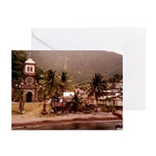 """Dominica """"Soufriere"""" Greeting Cards (Pk of 20)"""
