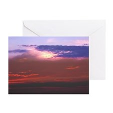 """Cozumel """"Tequila Sunset"""" Greeting Cards (Pk of 20)"""
