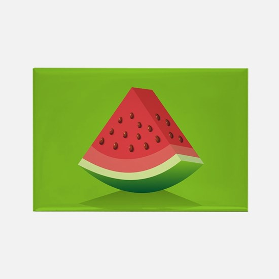 Watermelon Background Magnets