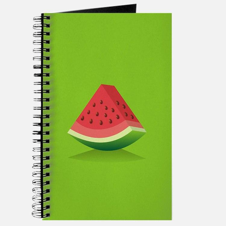 Watermelon Background Journal