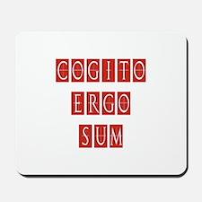 Cogito Ergo Sum Mousepad