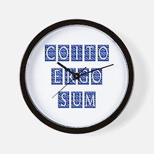 Coito Ergo Sum Wall Clock