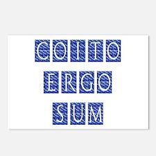 Coito Ergo Sum Postcards (Package of 8)