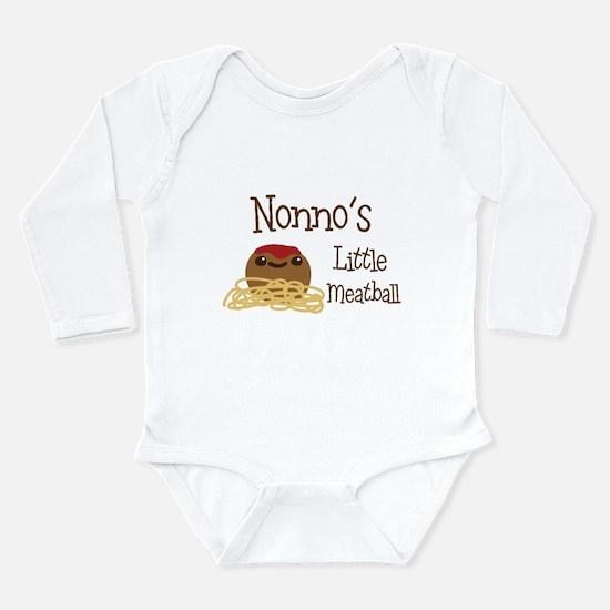 Nonno's Little Meatball Body Suit