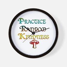Practice Random Kindness Wall Clock