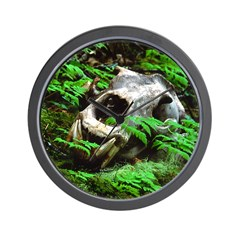 Another Time Grizzly Wall Clock