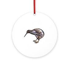 New Zealand Kiwi Ornament (Round)