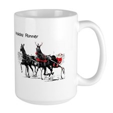 Santa Racing Mug