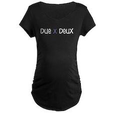 Due X Deux T-Shirt (blue)