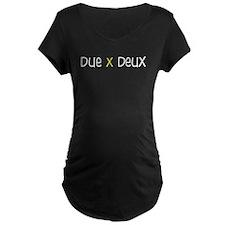 Due X Deux T-Shirt (yellow)