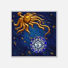 Harvest Moons Sun & Moon Sticker