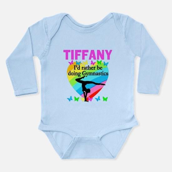 CHRISTIAN GYMNAST Long Sleeve Infant Bodysuit