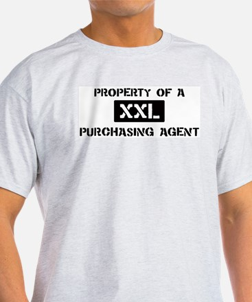 Property of: Purchasing Agent T-Shirt