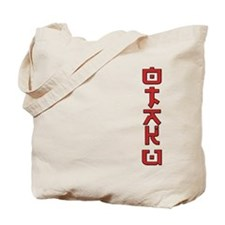 Otaku Text Design Tote Bag