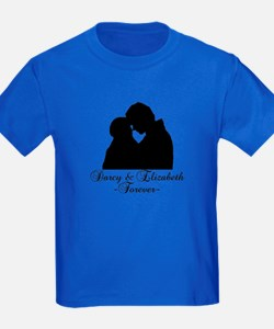 Darcy & Elizabeth Forever Silhouette T