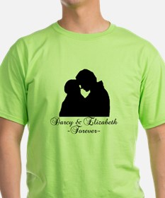 Darcy & Elizabeth Forever Silhouette T-Shirt
