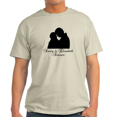 Darcy & Elizabeth Forever Silhouette Light T-Shirt