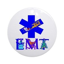 EMT Christmas Gifts Ornament (Round)