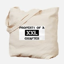 Property of: Crafter Tote Bag