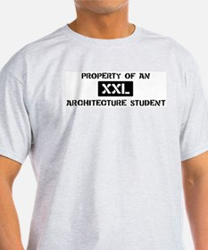 Property of: Architecture Stu T-Shirt