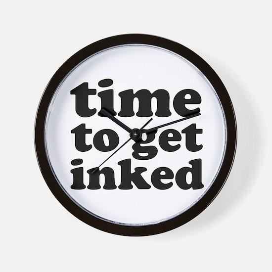 Get Inked Designer Wall Clock (BESTSELLER!!)