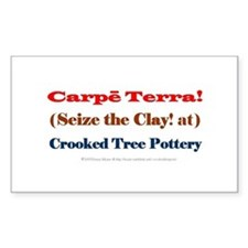 Seize the Clay! Our Potter's Motto Decal