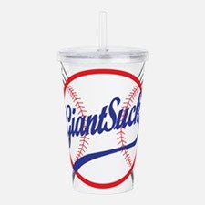 Giants Suck! Acrylic Double-wall Tumbler
