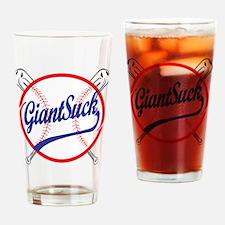 Giants Suck! Drinking Glass