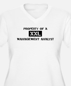 Property of: Management Analy T-Shirt