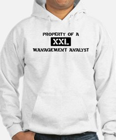 Property of: Management Analy Hoodie