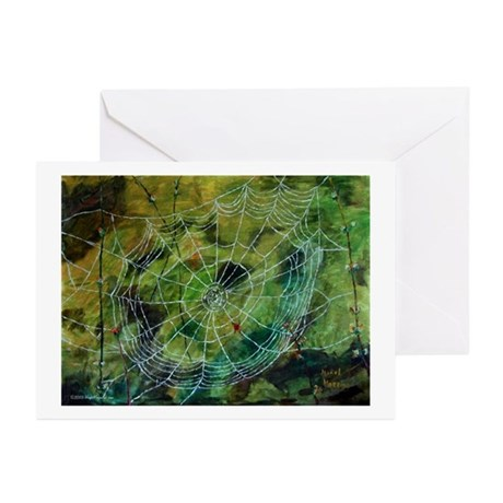 """""""World Wide Web"""" Greeting Cards (Pk of 10)"""