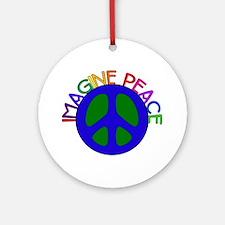 Image Peace Ornament (Round)