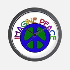 Image Peace Wall Clock