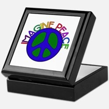 Image Peace Keepsake Box